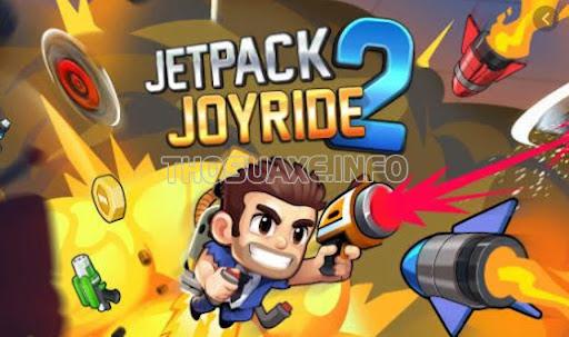 Jetpack Joyride là một game hay cho IOS hot hiện nay