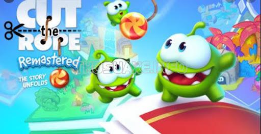 Game dành cho iPhone Cut the rope 2