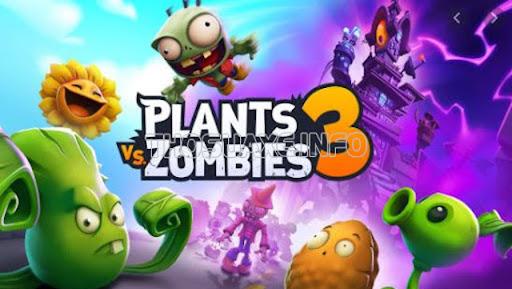 Cây cối muôn màu với những chú zombie đáng sợ