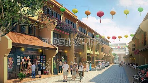 Phố cổ Hạ Long gây ấn tượng mạnh với du khách tới tham quan khu du lịch Hạ Long