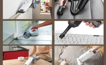 Máy hút bụi cầm tay sạc pin đa năng, nhỏ gọn
